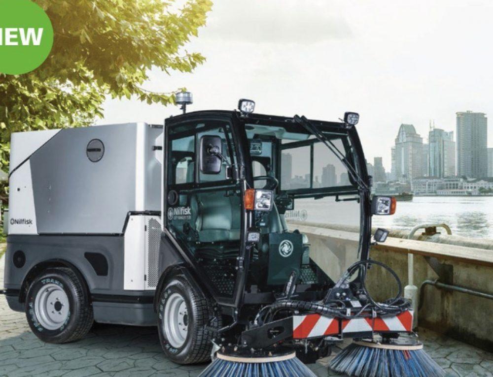 City Ranger 3570, noua masina de curatenie lansata de NILFISK