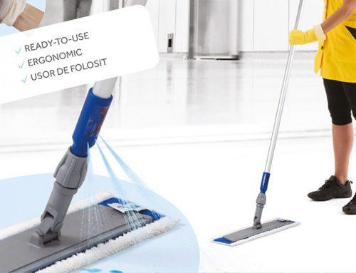 Mop profesional cu rezervor de la Cleaning Logistic